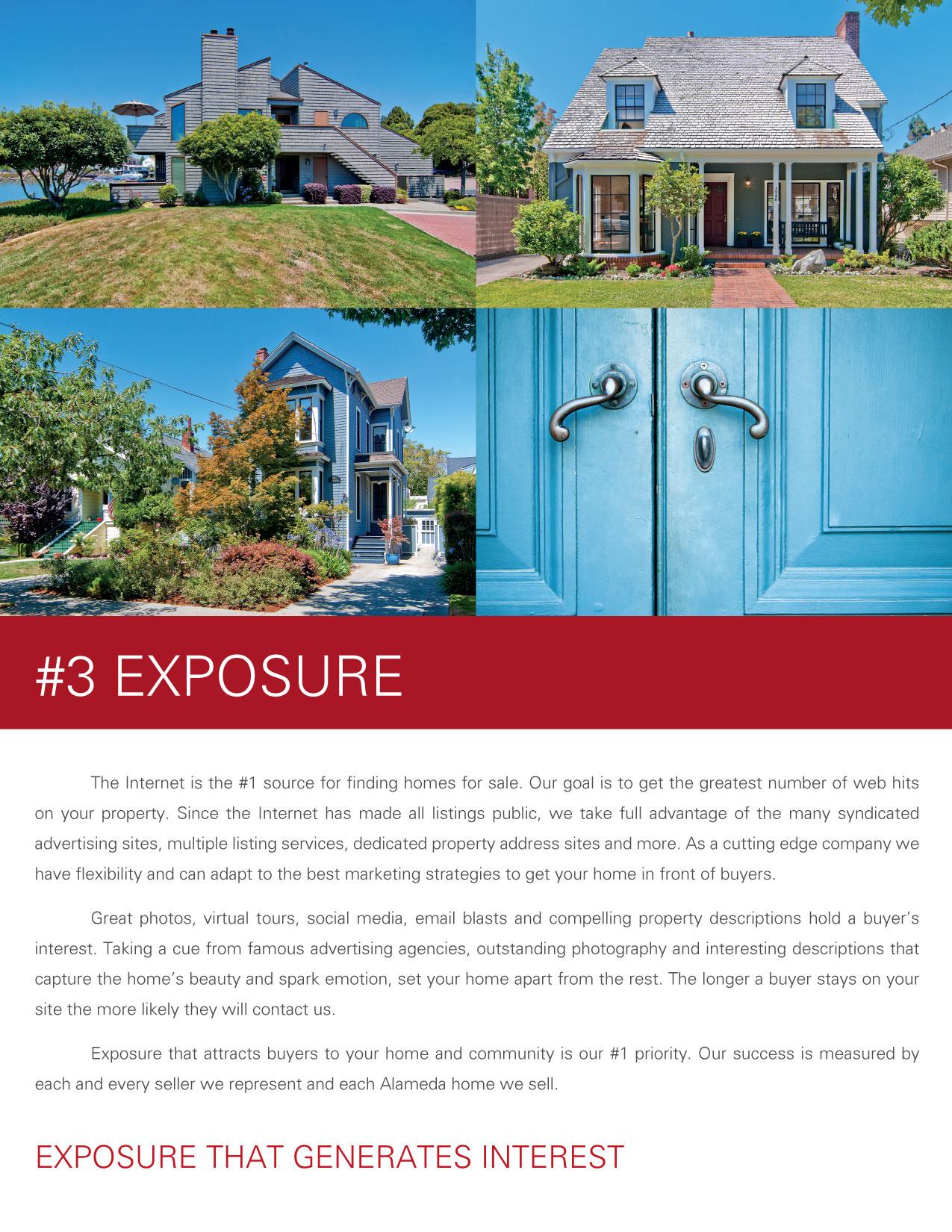 Listing Presentation - #3 Exposure