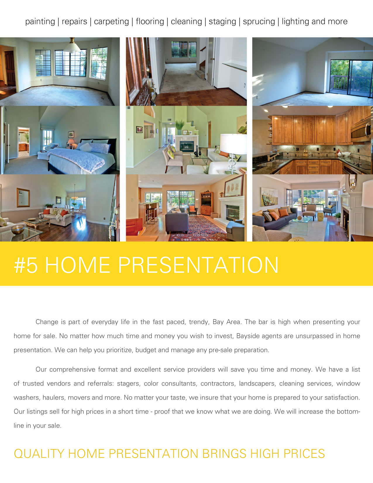 Listing Presentation - #5 Home Presentation